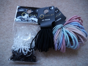 Assorted hair bands, Primark, £1 each